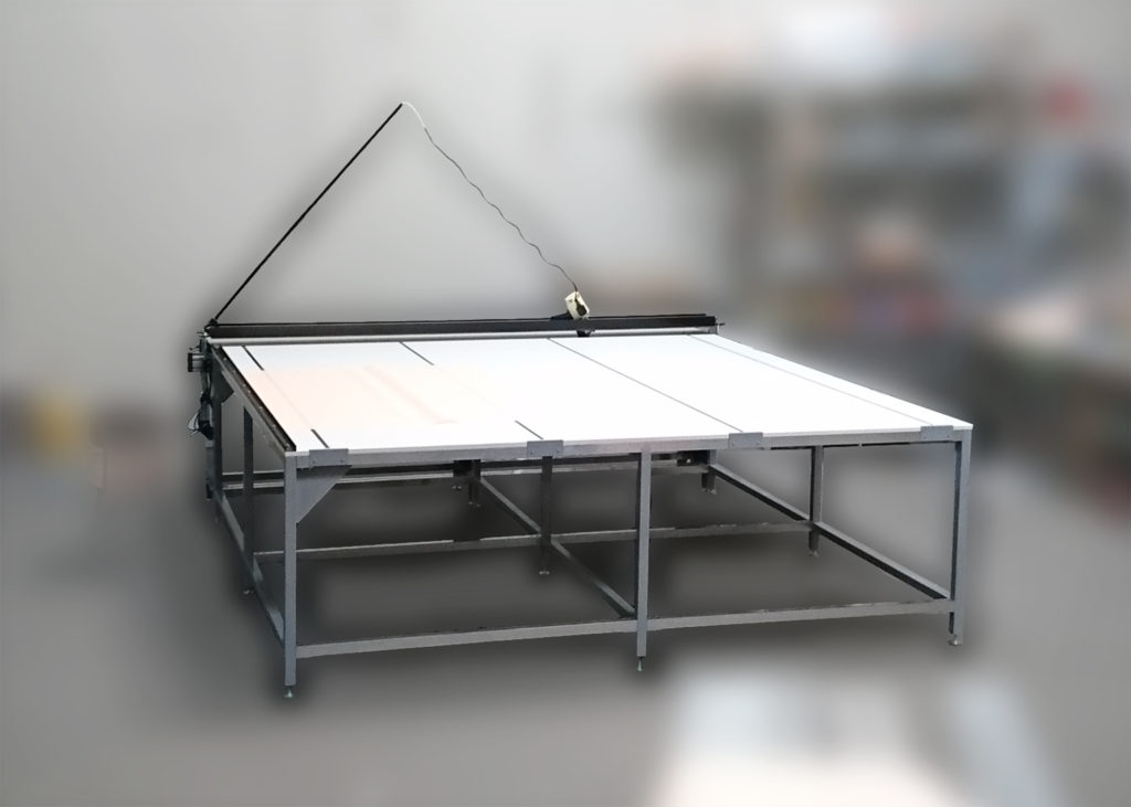 Cutting table for fabrics SRM Mini Standard