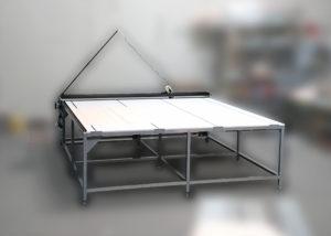 Stół do cięcia tkanin SRM mini ręczny