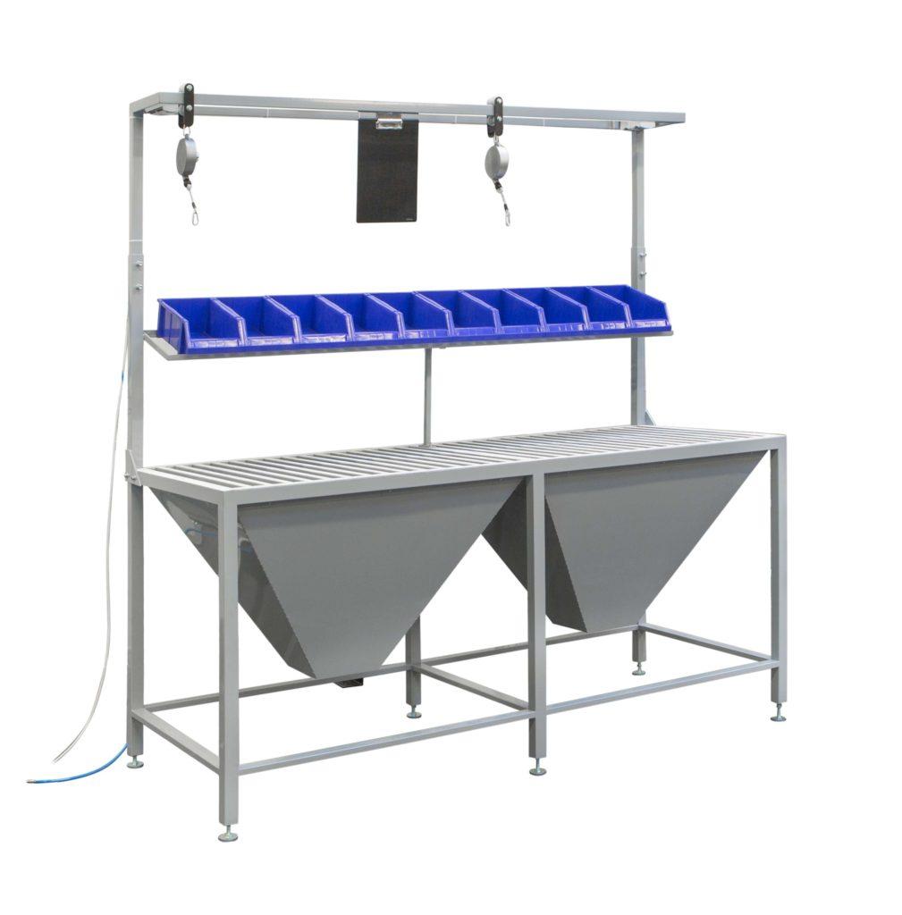 stół do składania skrzynek rolet zewnętrznych