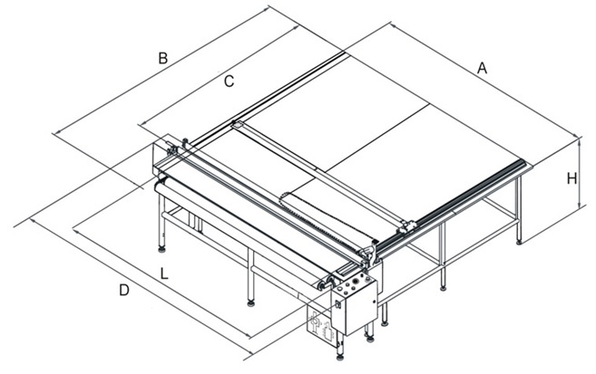 Wymiary stołu SRM